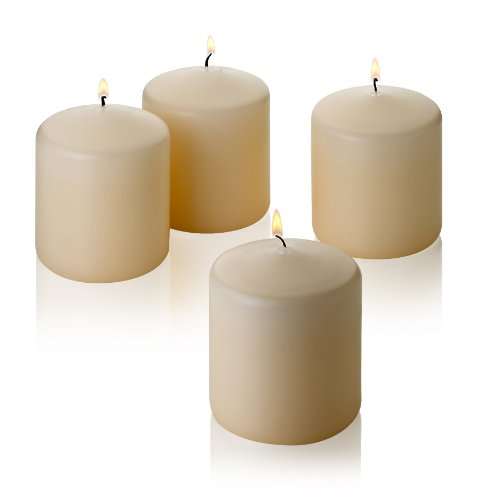 Light In The Dark French Vanilla Pillar Scented Candles 3