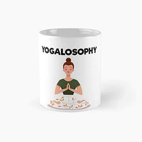 Yogalosophy Taza clásica | El mejor regalo divertidas tazas de café de 325 ml