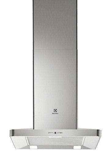Electrolux EFF60560OX Decorativa Acero inoxidable 603m³/h B - Campana (603 m³/h, Canalizado/Recirculación, B, A, D, 57 dB)
