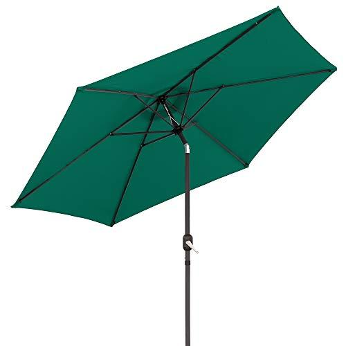 Parasol sombrilla de Aluminio clásico de 300 cm - LOLAhome (Verde)