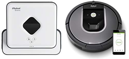 iRobot Roomba 960 + iRobot Braava 390T