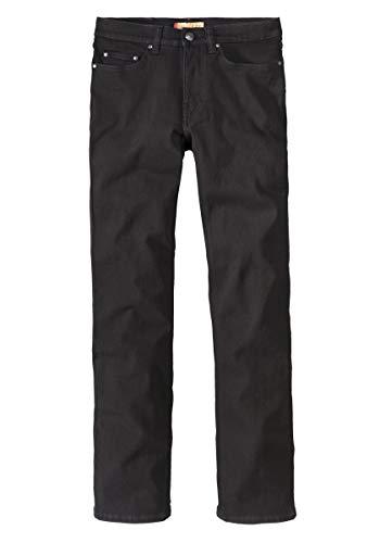Paddock`s Herren Jeans Ranger - Slim Fit - Schwarz - Black/Black, Größe:W 40 L 32;Farbe:Black/Black (6001)
