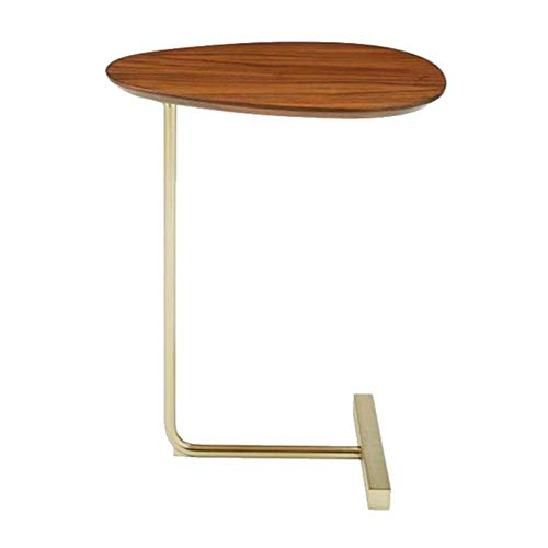 End Table, Side Table, CoffeeTable, for Coffee Laptop, with Metal Frame, for Living Room, Bedroom, Balcony,