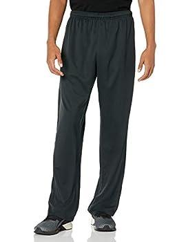 Hanes Men s Sport X-Temp Performance Training Pant with Pockets Black XL