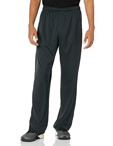 Hanes Men's Sport X-Temp Performance Training Pant with Pockets, Black, M