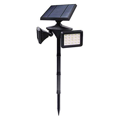 YANG1MN Solar Light Led Double Head...