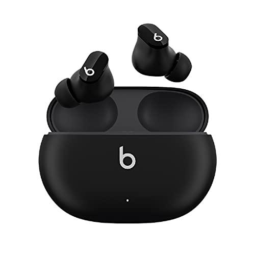 BeatsStudioBuds – Auricolari bluetooth totalmente wireless con cancellazione del rumore – auricolari senza fili resistenti al sudore, compatibili con Apple e Android, Bluetooth di Classe1 – Nero