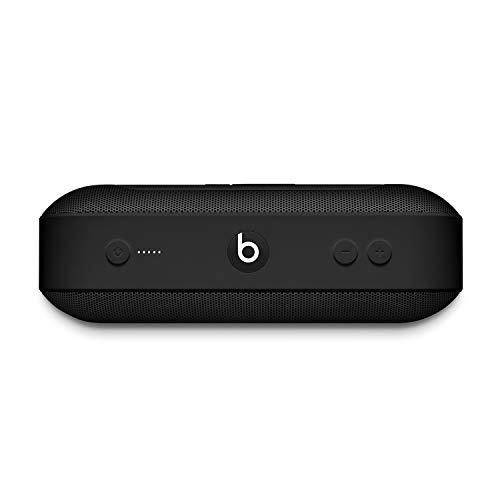 BeatsPill+ mobiler kabelloser Bluetooth Lautsprecher– StereoBluetooth, 12Stunden Wiedergabe, Mikrofon für Telefonanrufe– Schwarz