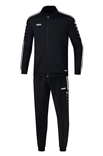 JAKO Kinder Striker 2.0 Trainingsanzug Polyester, schwarz/Weiß, 164