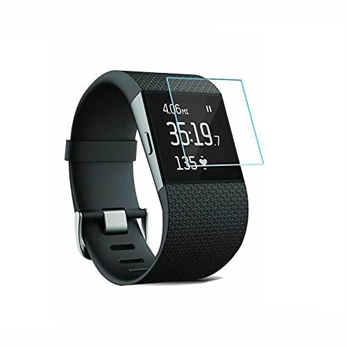 YANSHG® pour Fitbit Surge Montre en Verre trempé Protecteur d'écran, Anti-Rayures Ultra Clear 9H Protecteur de Verre trempé