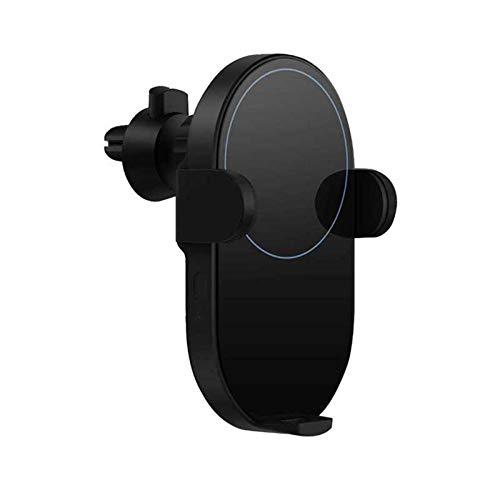 ALLWIN Cargador Inalámbrico, Qi Cargador Inalámbrico para Automóvil Auto Pinch 20W MAX con Sensor Infrarrojo Inteligente Soporte para Teléfono De Automóvil De Carga Rápida