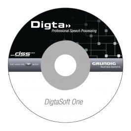 DigtaSoft One DVD (PDS5090-01), Diktiersoftware für Einsteiger