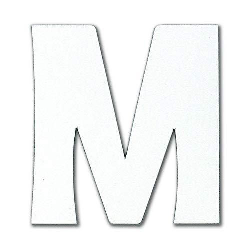 ダイドーハント 磁気ステッカー アルファベット M マグネット 切り文字 10177762 白 高さ5×幅5cm