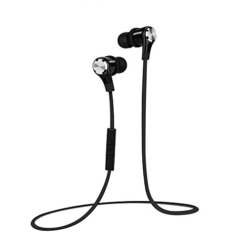 Mpow Petrel Wireless Bluetooth Sport headphones Stereo Lightweight Headset Sweatproof Running Jogging In-Ear Earbuds with Microphone