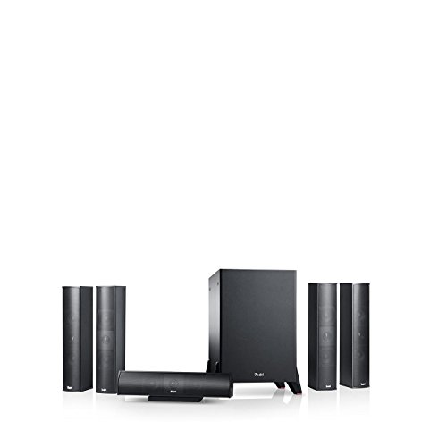 Teufel Columa 300 Mk2 5.1-Set S Schwarz Heimkino Lautsprecher 5.1 Soundanlage Kino Raumklang Surround Subwoofer Movie High-End HiFi Speaker