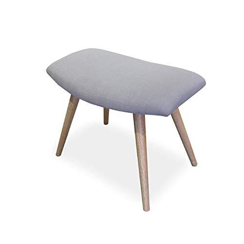 Reposapiés para sofá o silla con asiento a juego, dormitorio, sala de estar, estilo nórdico japonés (color #4)