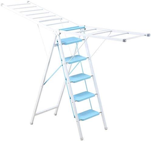 Tendedero eléctrico Secadora de ropa Rack interior y al aire libre Escalera...