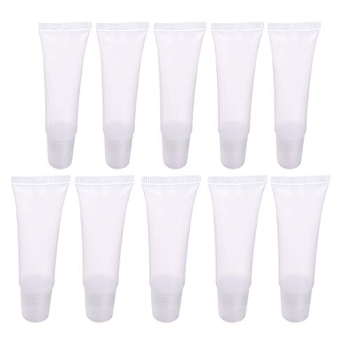 Hemoton Lot de 22 tubes de baume à lèvres rechargeables pour gloss à lèvres 8 g et 10 g