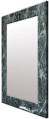 999Store Printed Grey Marvel Pattern Mirror