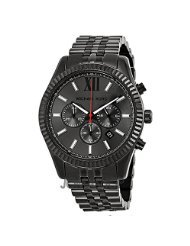 Michael Kors All Black Large Lexington Chronograaf Armbandhorloge MK8320