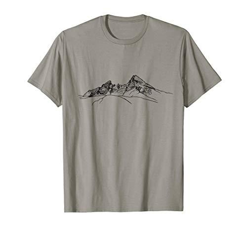 cooles Watzmanndesign, Watzmann, bayrische Alpen, Gebirge T-Shirt