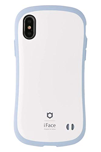 iFace First Class Pastel iPhone XS/X ケース [ブルー]