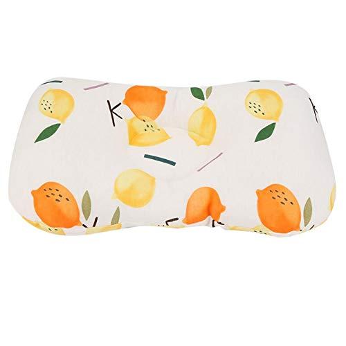 SALUTUYA Almohada Infantil, inofensiva, para Cochecito de bebé(Two-Color Lemon)