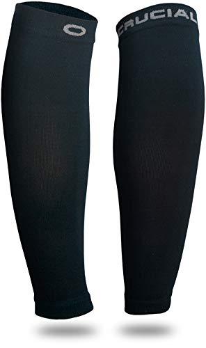 Calf Compression Sleeve for Men & Women (20-30mmHg) - Best Calf Compression Socks for Running, Shin...