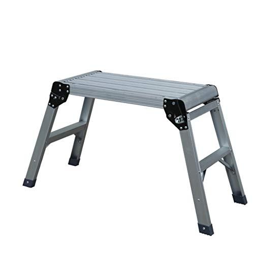 Mr.T/Klappstuhl Hocker Bank, Haushalt Dicker Aluminiumtrittschemel Folding Plattformleiter Pferd Bank Ladder (Größe: # 2) Multifunktionaler Trittleiter (Size : #1)