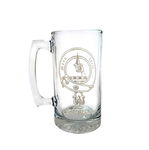 Clan MacKay Scottish Crest 27oz Stein