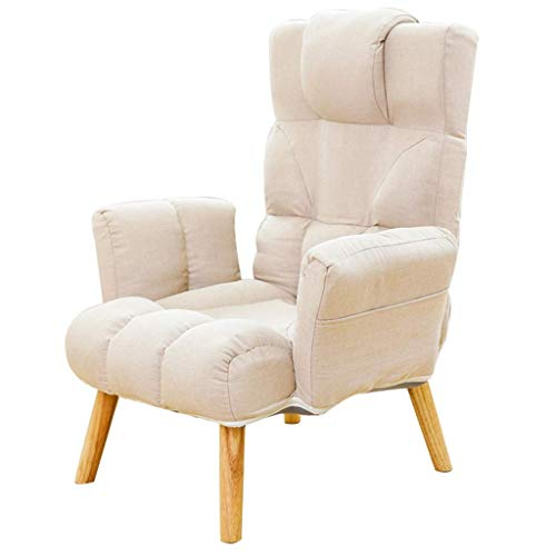 Single Sofa Adjustable Recliner Ergonomic Lounge Sofa Chair Armchair Accent Chair Foldable Casual Lazy Sofa Leisure Lazy Chair Dining Chair Patio Garden Chair Sun Lounger Couch Side Chair