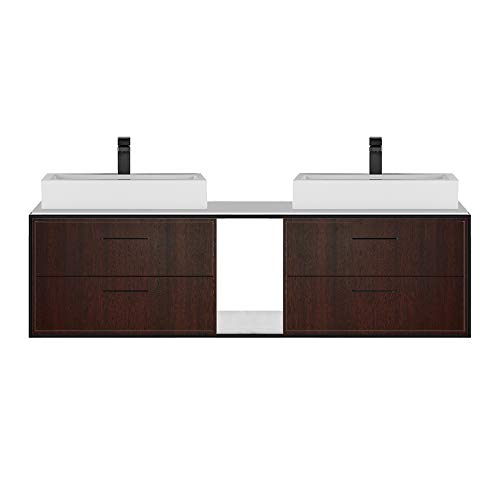 Find Discount Metal frame for wall-mount under-counter vanity LIN-VS-60A. Sold together with the cab...