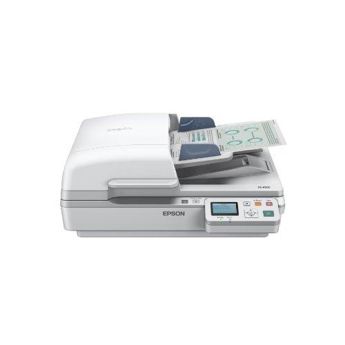 Epson WorkForce DS-7500N - Escáner (216 x 1,016 mm, 1200 x 1200 DPI, 48 bit, 24 bit, 40 ppm, 40 ppm)