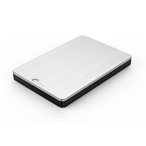 Sonnics 1TO Argent Disque dur externe portable USB 3.0 Super rapide Vitesse de transfert pour une utilisation avec un PC Windows, Apple Mac, Xbox One et PS4