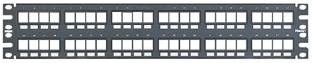 NetKey 48-Port Flush Mount Modular Patch Panel