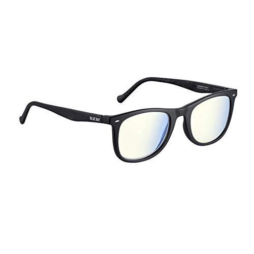 BLUE BAY Chelus - Occhiali da Lettura di Protezione Anti Luce Blu + 1,5, Unisex- Adulto, Montatura Nero Opaco