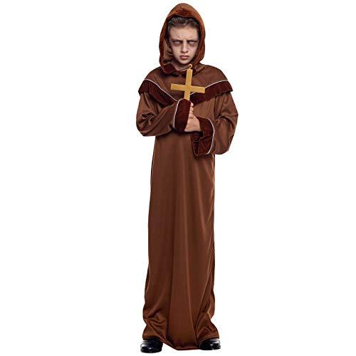 Disfraz Monje Franciscano Nio (5-6 aos) Halloween (+ Tallas)