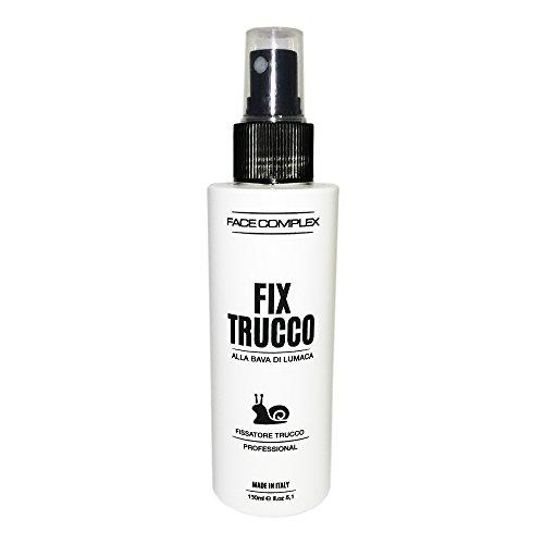 Face Complex Fix Trucco alla Bava di Lumaca con formula evaporazione istantanea - fissaggio estremo del make up senza alterarlo - 150ml