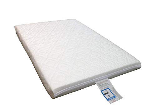 LAURA Extra Thick 95x65cm Travel Cot Mattress 7cm