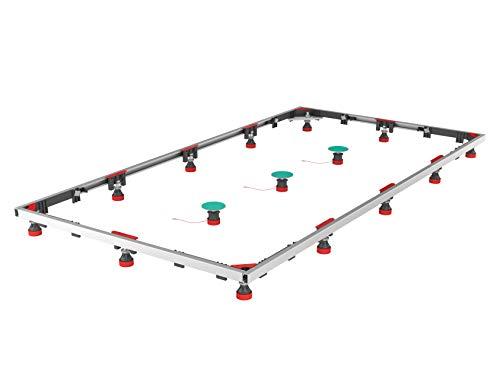 MEPA Montagerahmen (Einbaurahmen) SF Rechteck XL100/180 Stahl/Mineralguss - 150184