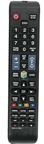 allimity BN59-01198Q Ersetzte Fernbedienung für Samsung TV BN5901198Q UA32J5500AK UA32J5500AS UA32J5500AW UA32J6300AK UA40J5500AK UA40J5500AS UA40J5500AW UA40J5505AK UA40J5520AK UA40J6200AK