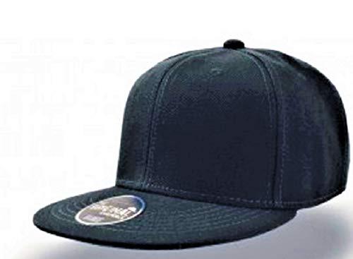 Atlantis Snap Back Cap AT603, Grš§e:One Size;Farbe:Black