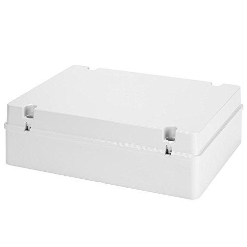 Gewiss - Caja de derivación con tapa de rosca baja para paredes lisas IP56, gris