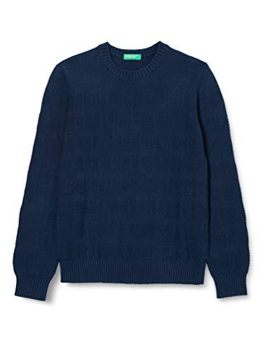 United Colors of Benetton (Z6ERJ) Jungen Maglia G/C M/L Pullover, Peacoat 252, XXX-Large