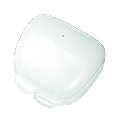 Nip® Schnullerbox Hygienische Aufbewahrungsbox für Schnuller, weiß