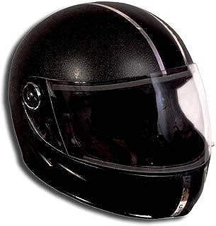 Motofly Uma Strong Full Face ISI APPROVED Motorbike Helmet (For- Men,Boys Colour- Black Size- L)