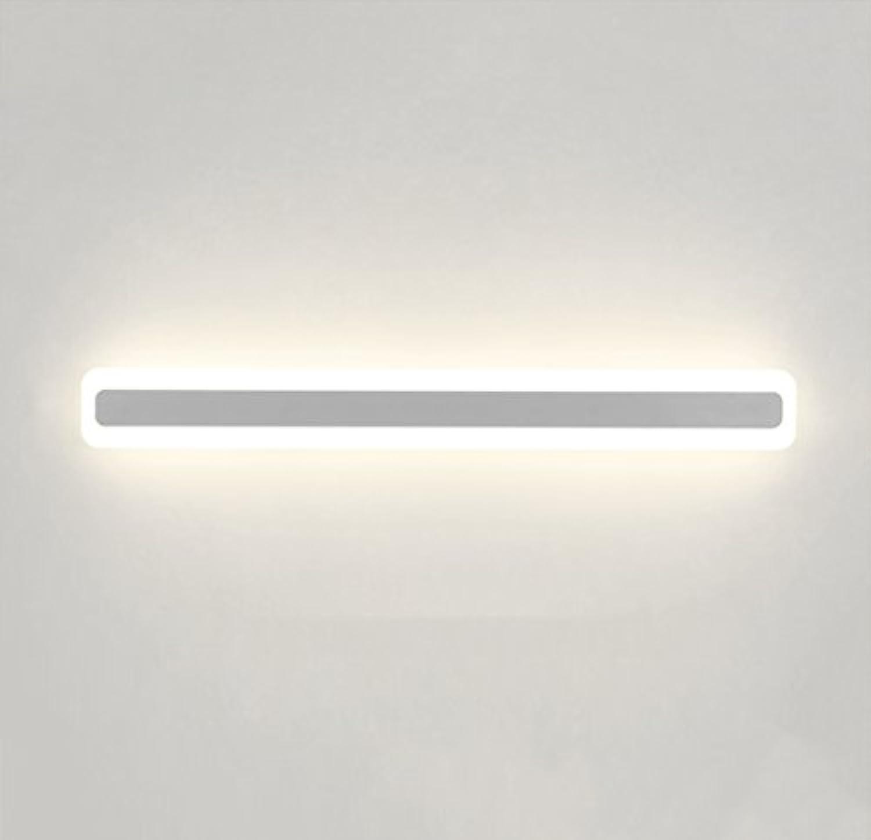& Spiegellampen Led Spiegel Frontleuchte Badezimmer Wandleuchte Moderne Wasserdichte Anti Fog Badezimmer Led-Licht Make-up Schminktisch Spiegel Schrank Lampe Badezimmerbeleuchtung
