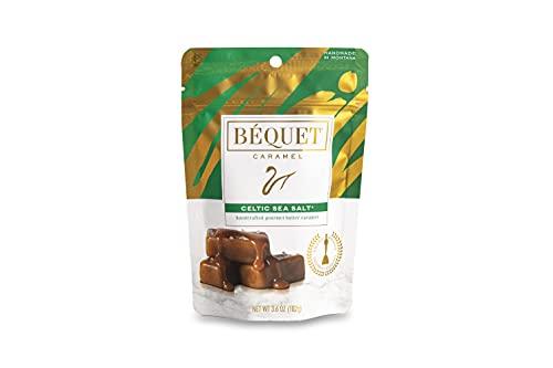 Béquet Caramel Celtic Sea Salt 3.6 oz Single Pouch
