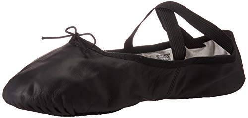 black split sole ballet shoes - 1