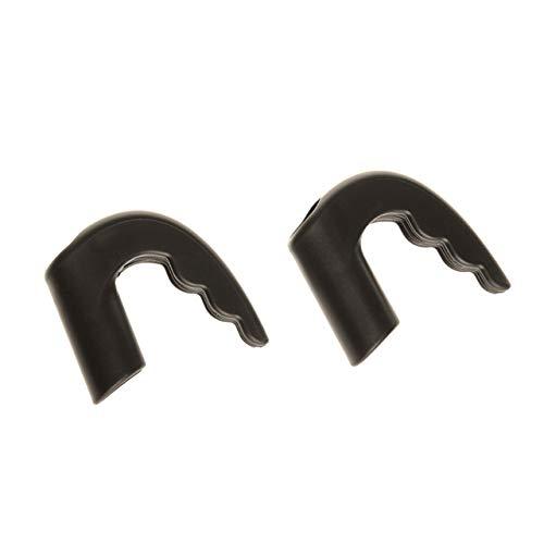 Andersen Kisten Fix zur Fixierung von Getränkekisten am Einkaufstrolley im 2er Set schwarz, für Holmdurchmesser 15 mm
